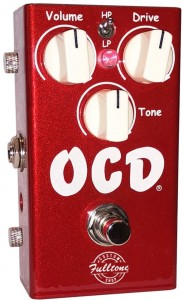 Fulltone OCD V 2.0 Candy Apple Red Custom Shop