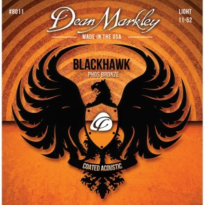 Dean Markley struny do gitary akustycznej BLACKHAWK PURE BRONZE 11-52