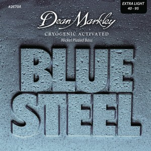 Dean Markley struny do gitary basowej BLUE STEEL NPS 40- 95