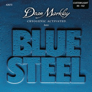 Dean Markley struny do gitary basowej BLUE STEEL 46-102
