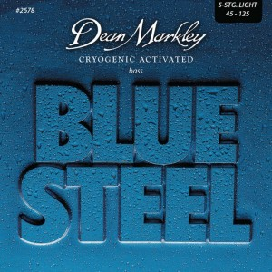 Dean Markley struny do gitary basowej BLUE STEEL 45-125 5-str