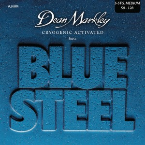 Dean Markley struny do gitary basowej BLUE STEEL 50-128 5-str