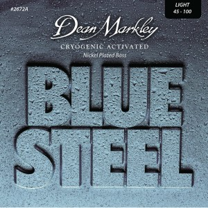 Dean Markley struny do gitary basowej BLUE STEEL NPS 45-100