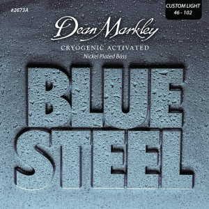 Dean Markley struny do gitary basowej BLUE STEEL NPS 46-102