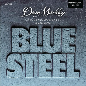 Dean Markley struny do gitary basowej BLUE STEEL NPS 45-105