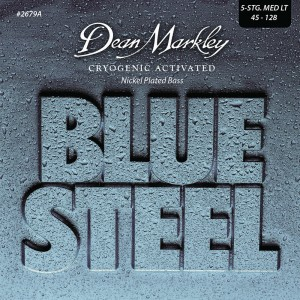 Dean Markley struny do gitary basowej BLUE STEEL NPS 45-128 5-str