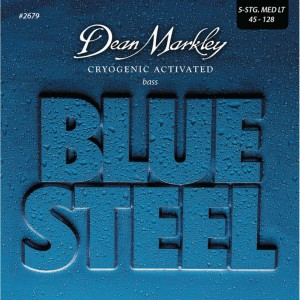 Dean Markley struny do gitary basowej BLUE STEEL 45-128 5-str