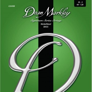 Dean Markley struny do gitary basowej NICKELSTEEL 40-128 5-str