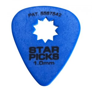 Cleartone kostka do gitary STAR PICKS 1.0 niebieska