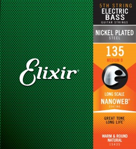 15435 Elixir® Strings NANOWEB® Coating .135L B-6 Heavy
