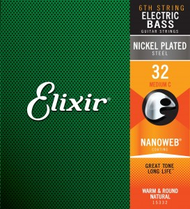 15332 Elixir® Strings NANOWEB® Coating .032 C-1 Medium