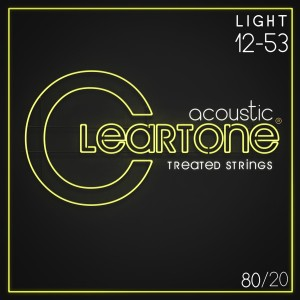 Struny Cleartone Acoustic 80/20 Bronze Light 12-53