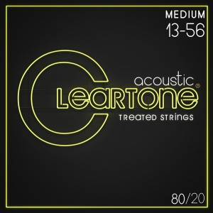 Struny Cleartone Acoustic 80/20 Bronze Medium 13-56