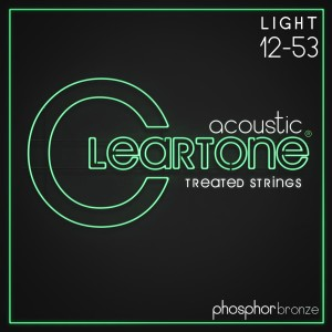 Struny Cleartone Acoustic Phosphor Bronze Light 12-53