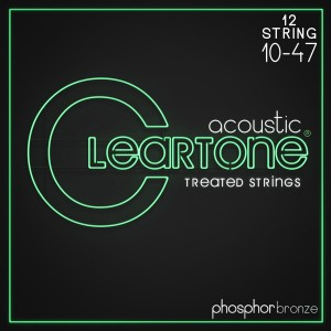 Struny Cleartone Acoustic Phosphor Bronze Light 10-47 12-string