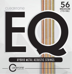 Struny Cleartone EQ Hybrid Metal Acoustic Medium 13-56